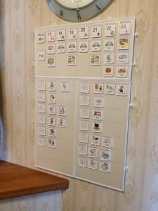 自閉症 視覚支援 スケジュール カレンダー 絵カード autism schedule board calendar kobarite