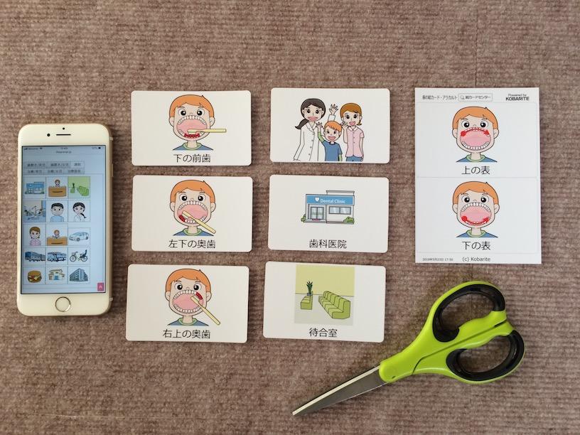 絵カード 歯磨き指導 歯科通院 自閉症